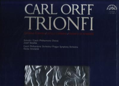 Carmina Burana, Carl Orff - triplu LP vinil foto