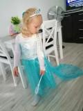 Rochie rochita printesa Elsa Frozen NOUA (cu eticheta) 4,5,6,7 ani, 5-6 ani, Turcoaz