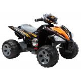 Cumpara ieftin ATV electric pentru copii 2-6 ani BJ007, 90W putere, 12V STANDARD Negru