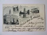 Raritate! Carte postala litografie Sânnicolau Mare/Timiș circulata 1900, Printata, Sinnicolau Mare