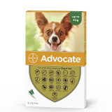 Advocate 40 Caine (0 - 4 kg), 3 pipete, Bayer