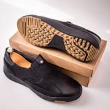 Pantofi negri barbati Ganali