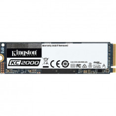SSD 500GB KC2000 M.2 2280 NVMe PCIe, R/W 3000/2000 MB/s, Kingston