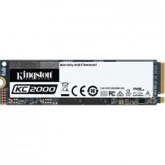 SSD 500GB KC2000 M.2 2280 NVMe PCIe, R/W 3000/2000 MB/s