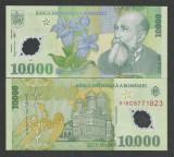 ROMANIA 10000 10.000 LEI 2000 (2001) Prefix 01 [0] ISARESCU , UNC - POLIMER