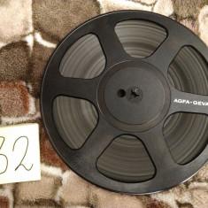 32.Banda Magnetofon AGFA rola policarb.26cm-Black (Akai,Teac,Tascam,Revox,BASF)
