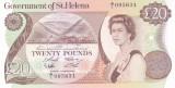 Bancnota Saint Helena 20 Pounds (1986) - P10 UNC