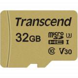 Card Transcend TS32GUSD500S microSDHC USD500S 32GB + Adaptor