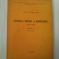 ISTORIA-MEDIE-A-ROMANIEI ( 17711-1821 ) - PARTEA I-A - NOTE DE CURS - UNIVERSITATEA DIN BUCURESTI - FACULTATEA D ISTORIE - CONF. UNIV.