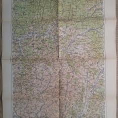 Bistrita/ harta Serviciul Geografic al Armatei 1939