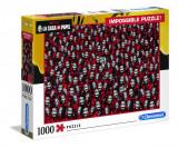 Puzzle clasic - Impossible La Casa De Papel, 1000 de piese, Clementoni