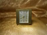 Ceas masa Art Deco Modernist, bronz, colectie, cadou, vintage