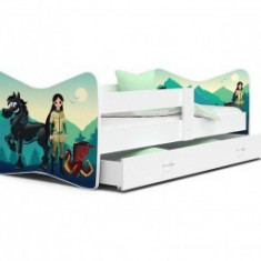 Patut Tineret Pentru Copii Tomi 160x80 - Adventure Girl