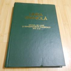 LIMBA SPANIOLA - MANUAL DE LIMBA SI CORESPONDENTA COMERCIALA ANII 3-4