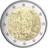 Franta moneda comemorativa 2 euro 2019 - Zidul Berlinului - UNC