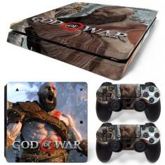 Skin / Sticker GOD OF WAR Playstation 4 PS4 SLIM