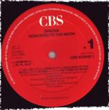Spagna - Dedicated To The Moon (1987, CBS) Disc vinil LP original