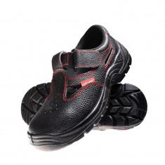 Sandale piele Lahti Pro, talpa poliuretan, marimea 45