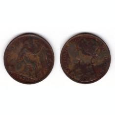 Marea Britanie 1874 - 1 penny