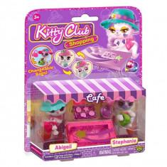 Set 2 figurine cu accesorii Kitty Club