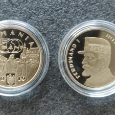 50 bani 2019 - Regele Ferdinand I Întregitorul  - PROOF