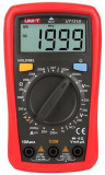 Multimetru Digital UNI-T UT131D (Negru/Rosu)