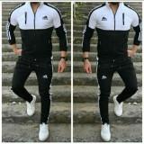 Trening bărbați de culoare neagră, Negru, XL, Adidas