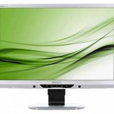 Monitor 22 inch LCD, Philips Brilliance 225B2, Silver & Black