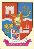 România, LP 928/1976, Stemele judeţelor (A-D), (uzuale), c.p. maximă, Arad