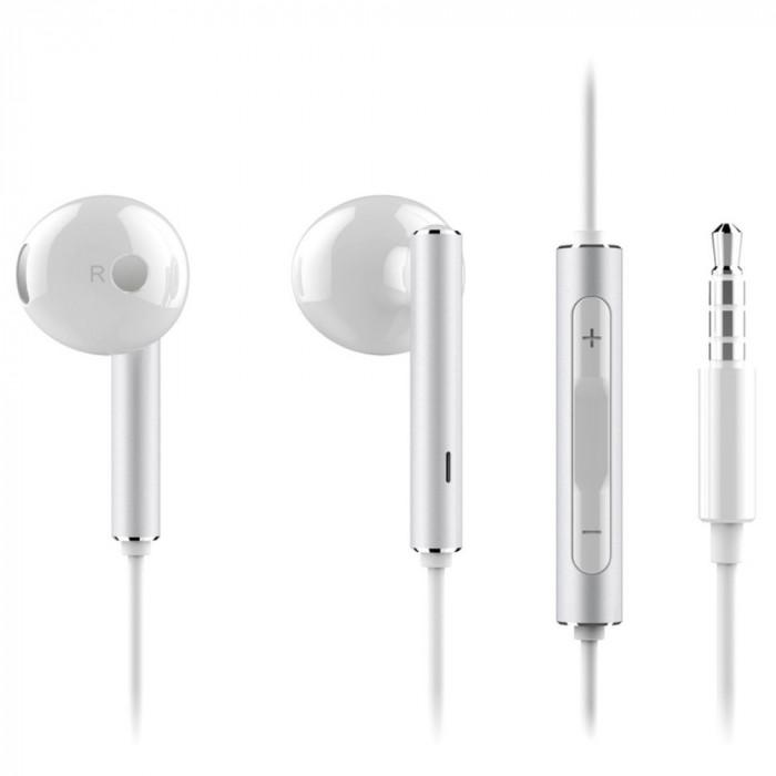 Casti cu fir Huawei AM-116 Alb, stereo, bulk