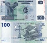 CONGO 100 francs 2013 UNC!!!