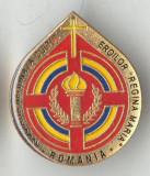 Insigna militara superba Asociatia NatIonala CULTUL EROILOR - REGINA MARIA