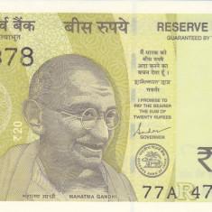 Bancnota India 20 Rupii 2019 - PNew UNC