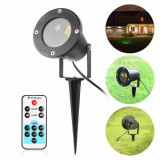 Star Shower Motion proiector Laser exterior telecomanda METALIC ANIMAT