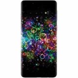 Husa silicon pentru Samsung Galaxy S10, Rainbow Colored Soap Bubbles