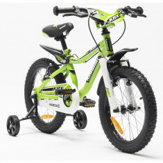 Bicicleta copii Kawasaki KBX 16 green by Merida Italy for Your BabyKids