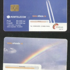 Romania 2002 Telephone card ARtelecom Rom 167 CT.031