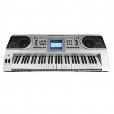 Orga electronica MK-920, 61 clape, LCD, 100 timbre, 100 ritmuri, 6 melodii demo, boxe incorporate