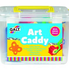 Set pentru pictura Galt Cutia micului pictor, cutie pentru depozitare inclusa