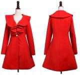 Palton/Pardesiu dama slim fit,cu revere ample - Pret promotional !!!