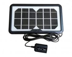 Panou Solar Fotovoltaic pentru incarcare Telefoane USB 4W foto