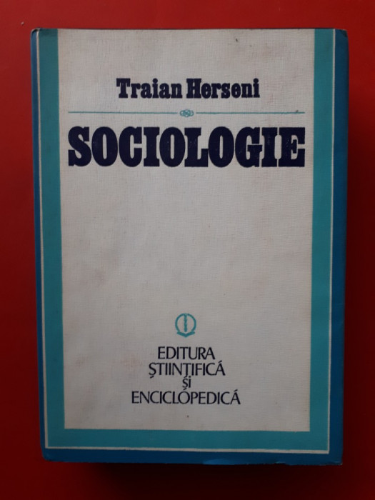 SOCIOLOGIE × Traian Herseni