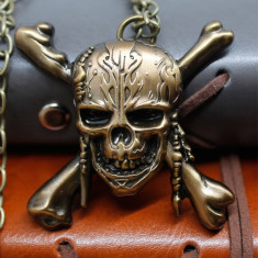 Pandantiv Medalion Lantisor Jack Sparrow Pirații din Caraibe Ambalaj