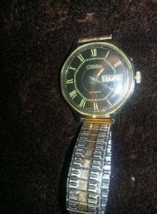 ceas vechi barbatesc de mana Funtional Colectie,Slava 26 rubine,dim.38 mm,T.GRAT