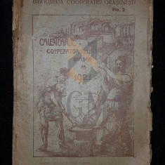 BIBLIOTECA DE PROPAGANDA SI POPULARIZARE, NUMARUL 2 - CALANDARUL COOPERATORULUI ORASAN PE 1921