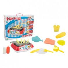 Set de joaca Friggi Friggi - Magic Fry, Plita pentru gatit