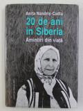20 DE ANI IN SIBERIA de ANITA NANDRIS - CUDLA , 2017