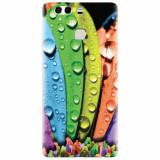 Husa silicon pentru Huawei P9 Plus, Colorful Daisy Petals