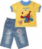 Costum de vara 2 piese cu Spiderman HBT57
