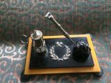 MACHETA LAMPA DE MINA miner CARBUNE PICAMAR obiect decor minerit colectie hobby
